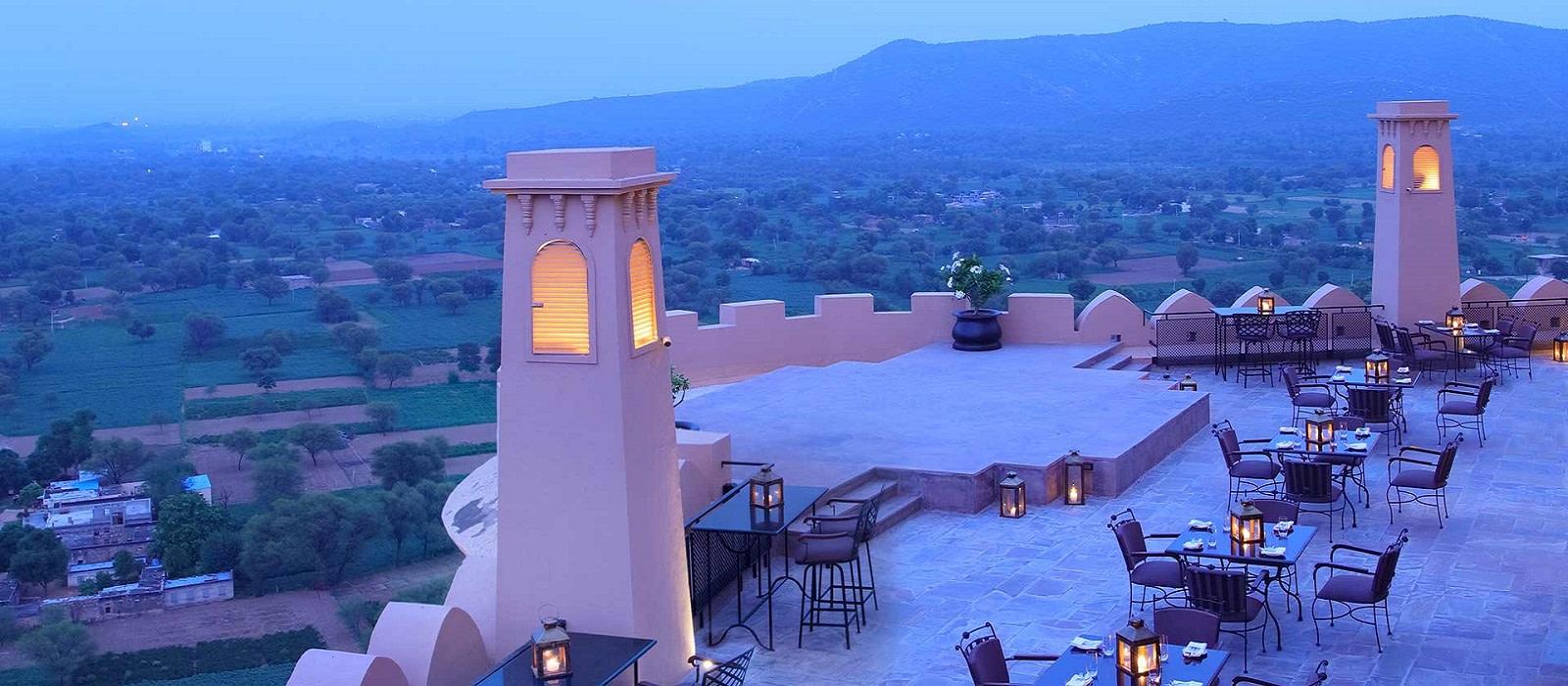 Hotel Alila Fort Bishangarh Nordindien
