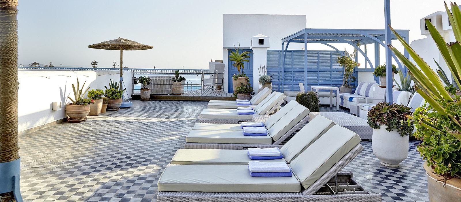 Hotel Heure Bleue Palais Marokko
