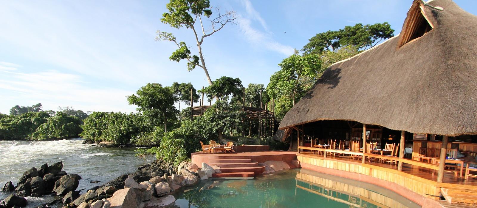 Hotel Wildwaters Lodge Uganda