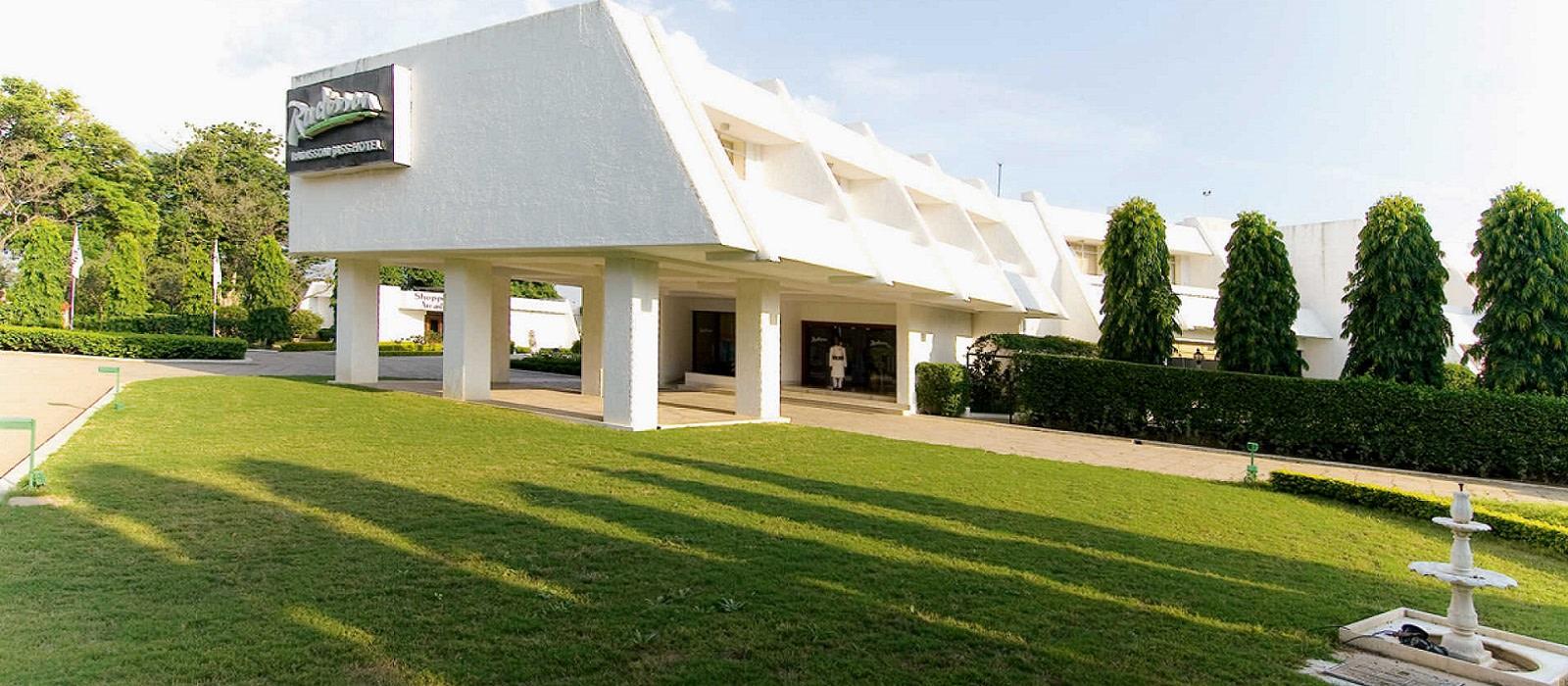 Hotel Radisson Jass  Khajuraho Nordindien