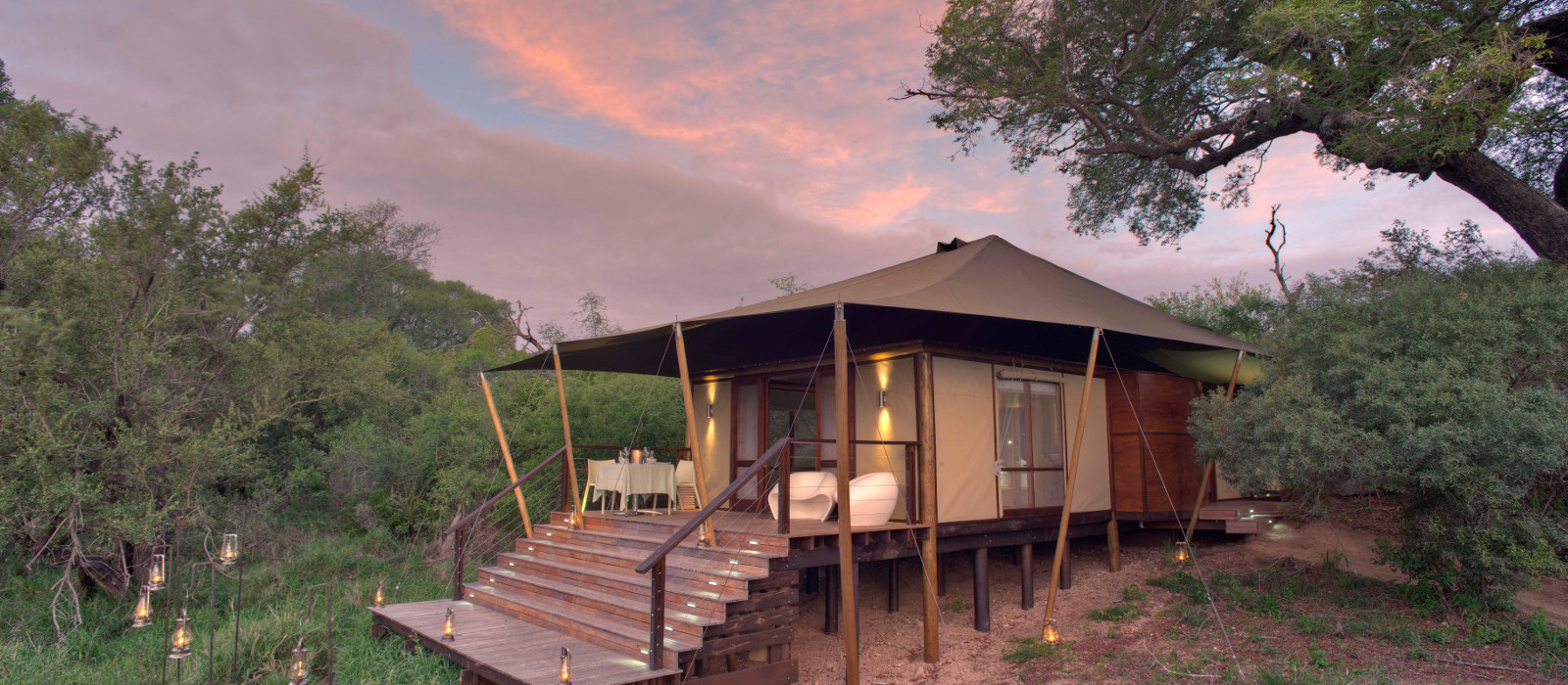 Hotel Ngala Tented Camp Südafrika