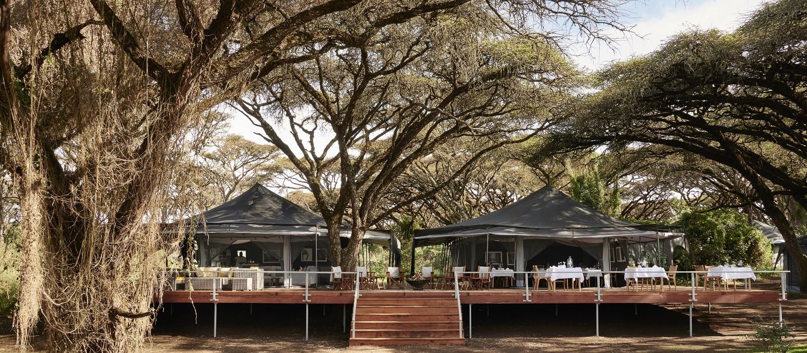Hotel Sanctuary Ngorongoro Crater Camp Tansania