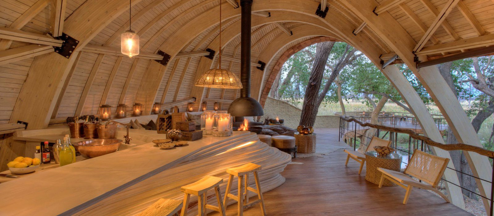 Hotel Sandibe Safari Lodge Botswana