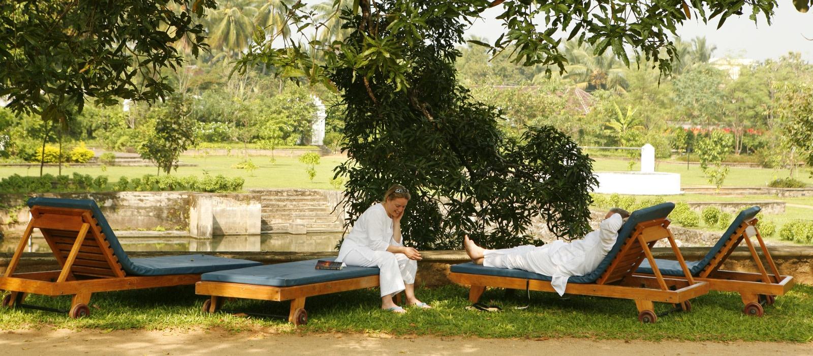 Hotel Kalari Kovilakom Südindien