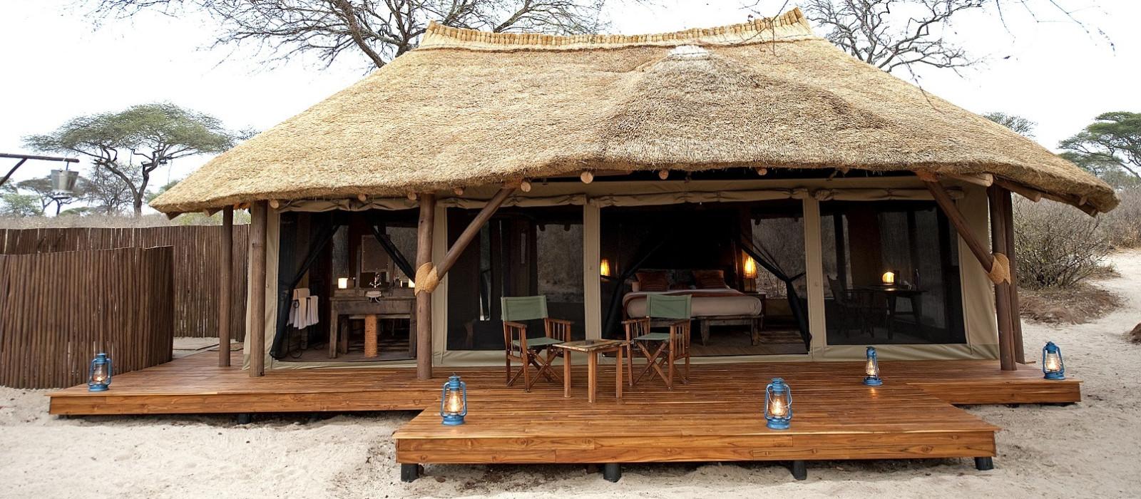 Hotel Olivers Camp Tansania