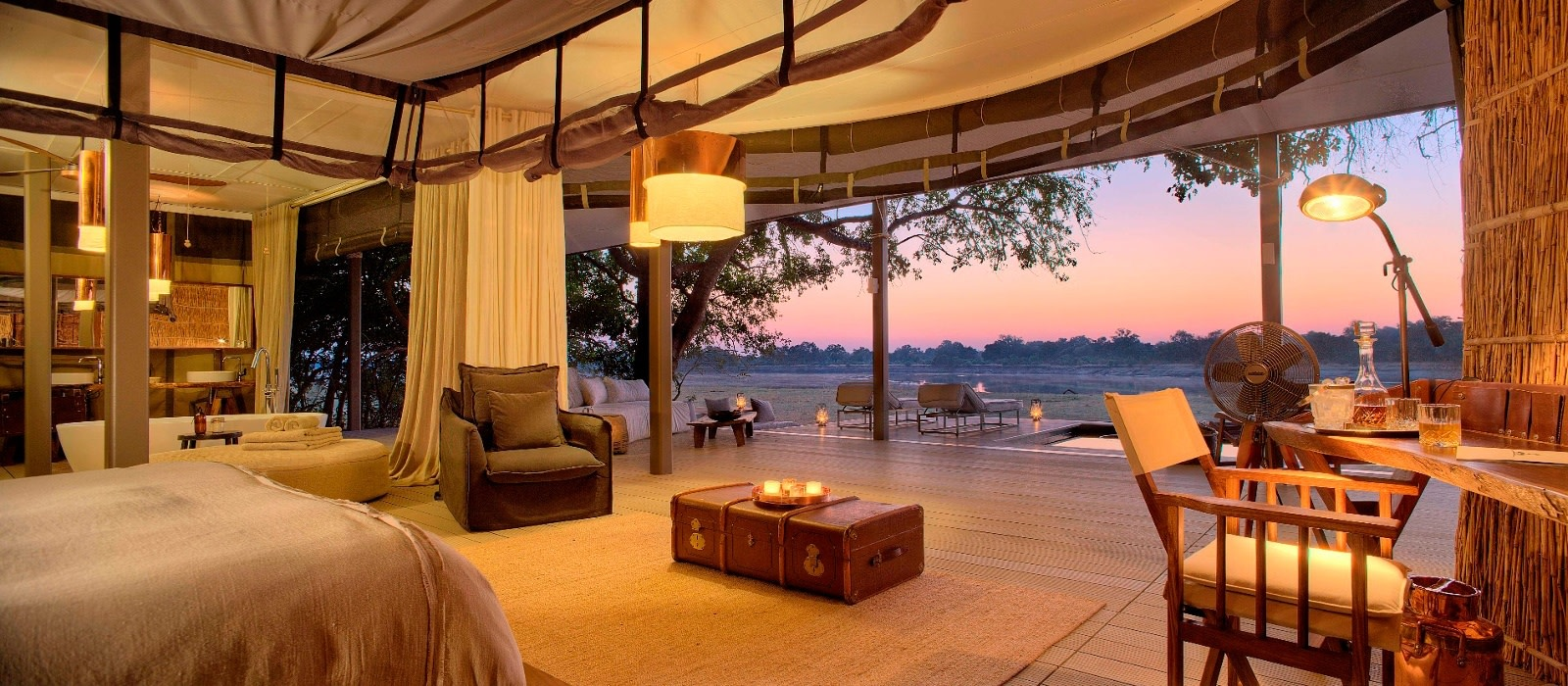 Hotel Chinzombo Lodge Sambia