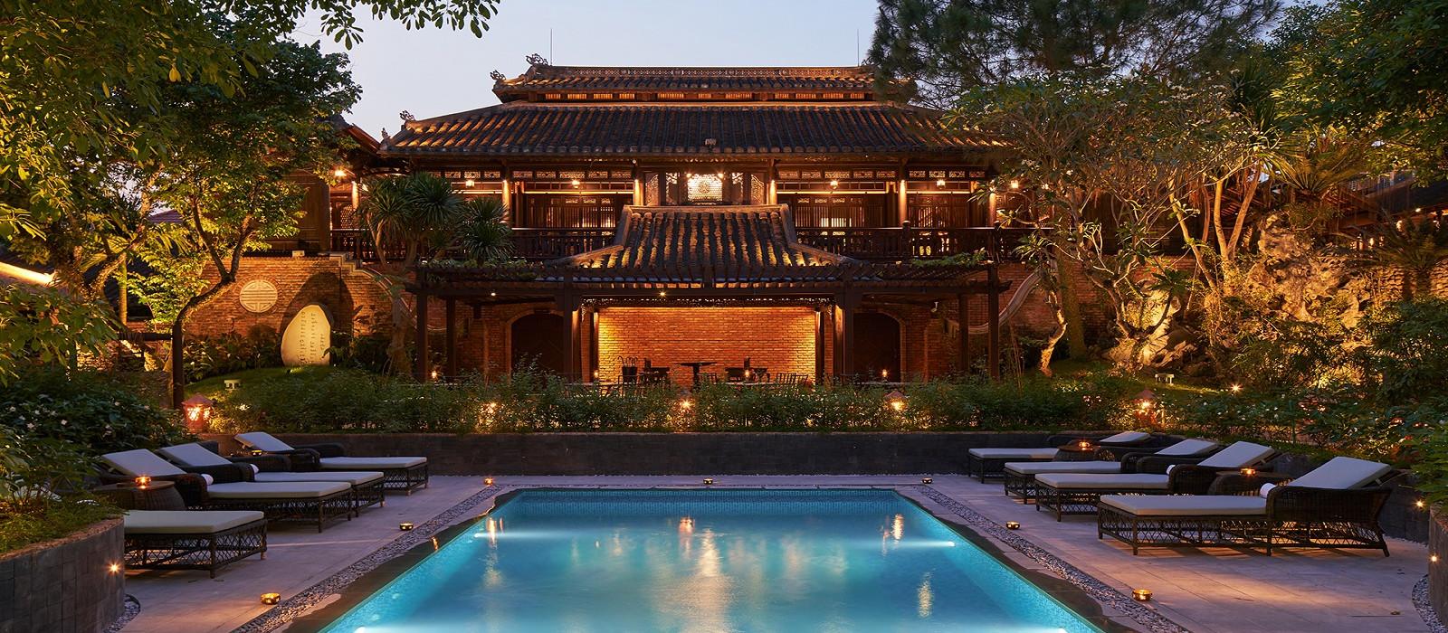 Hotel Ancient Hue Garden Houses Vietnam