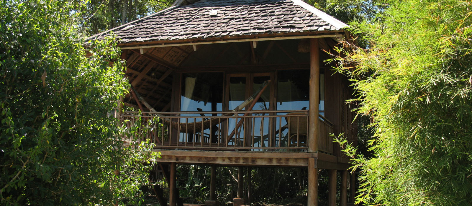 Hotel Kingfisher Ecolodge Laos