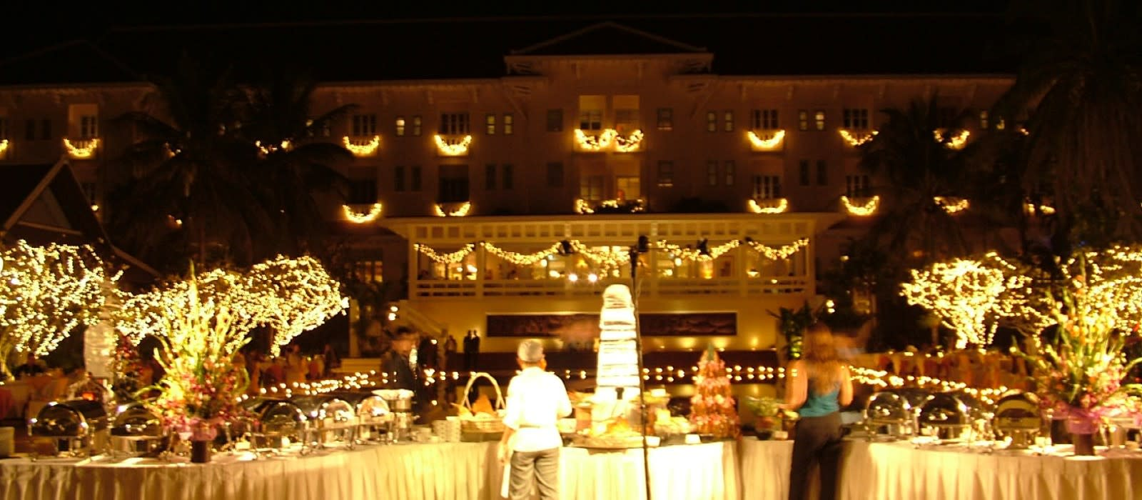 Hotel Raffles Grand  dAngkor Kambodscha
