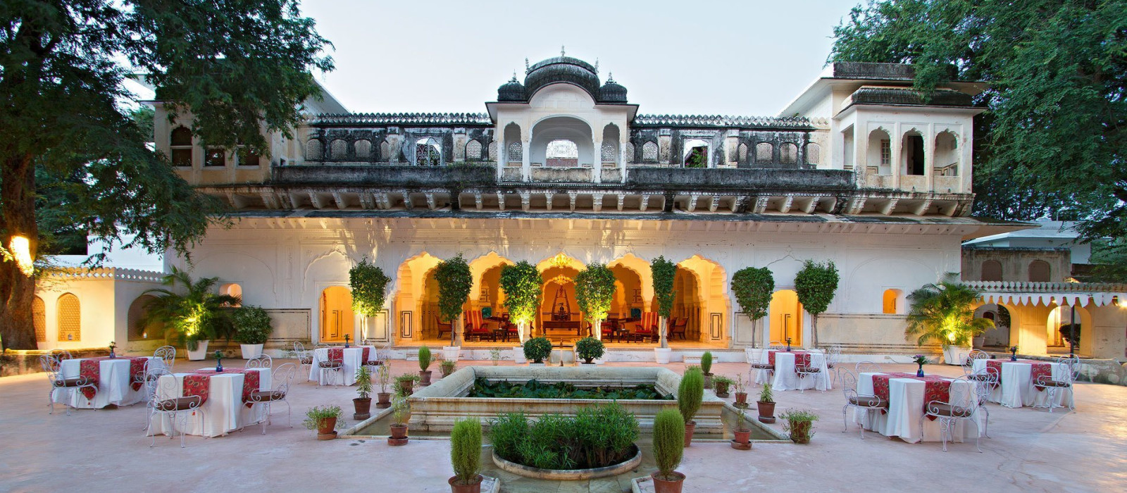 Hotel Samode Bagh Nordindien