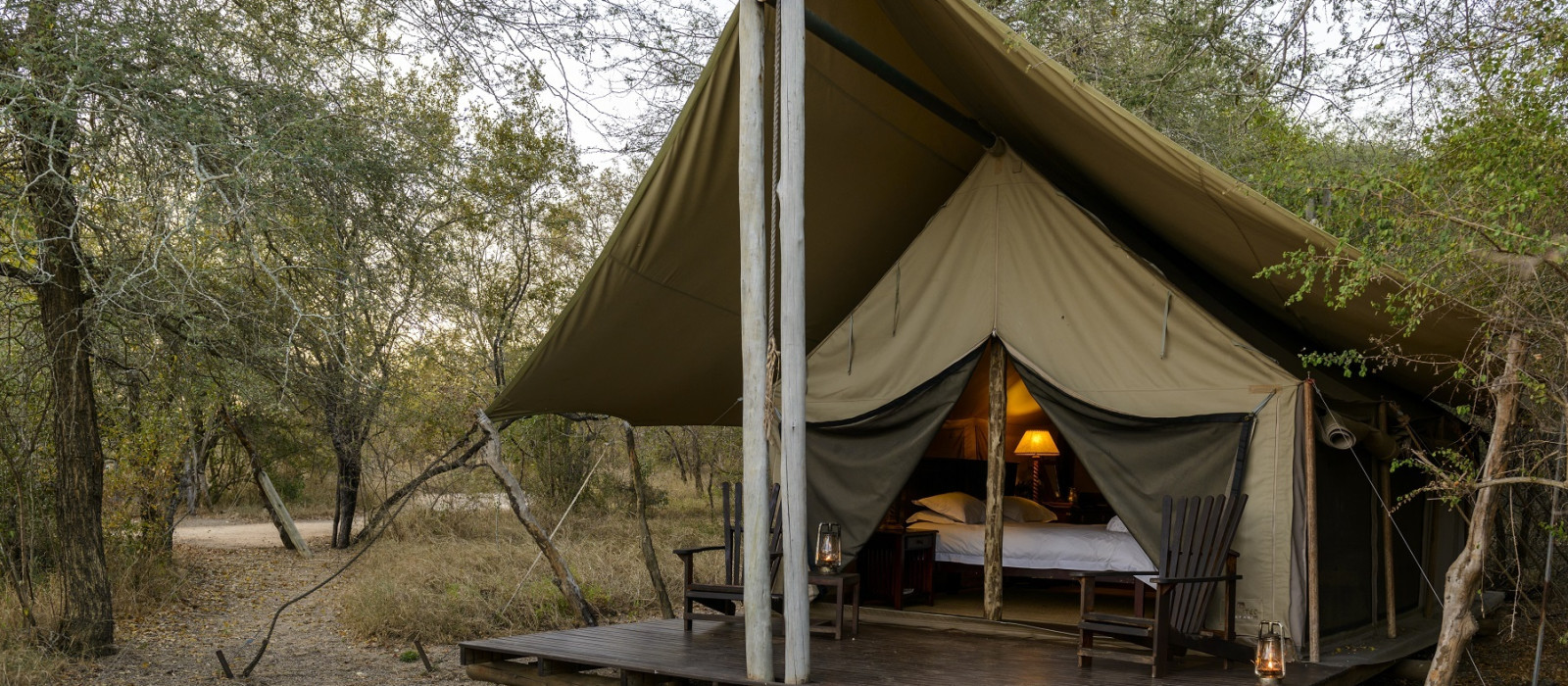 Hotel Rhino Safari Camp Simbabwe