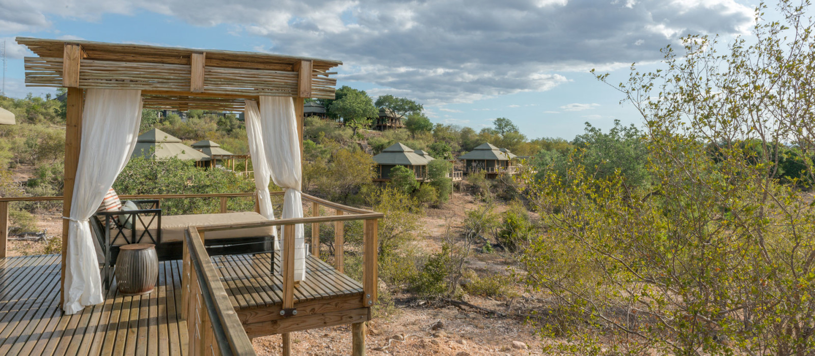 Hotel Simbavati Hilltop Lodge Südafrika