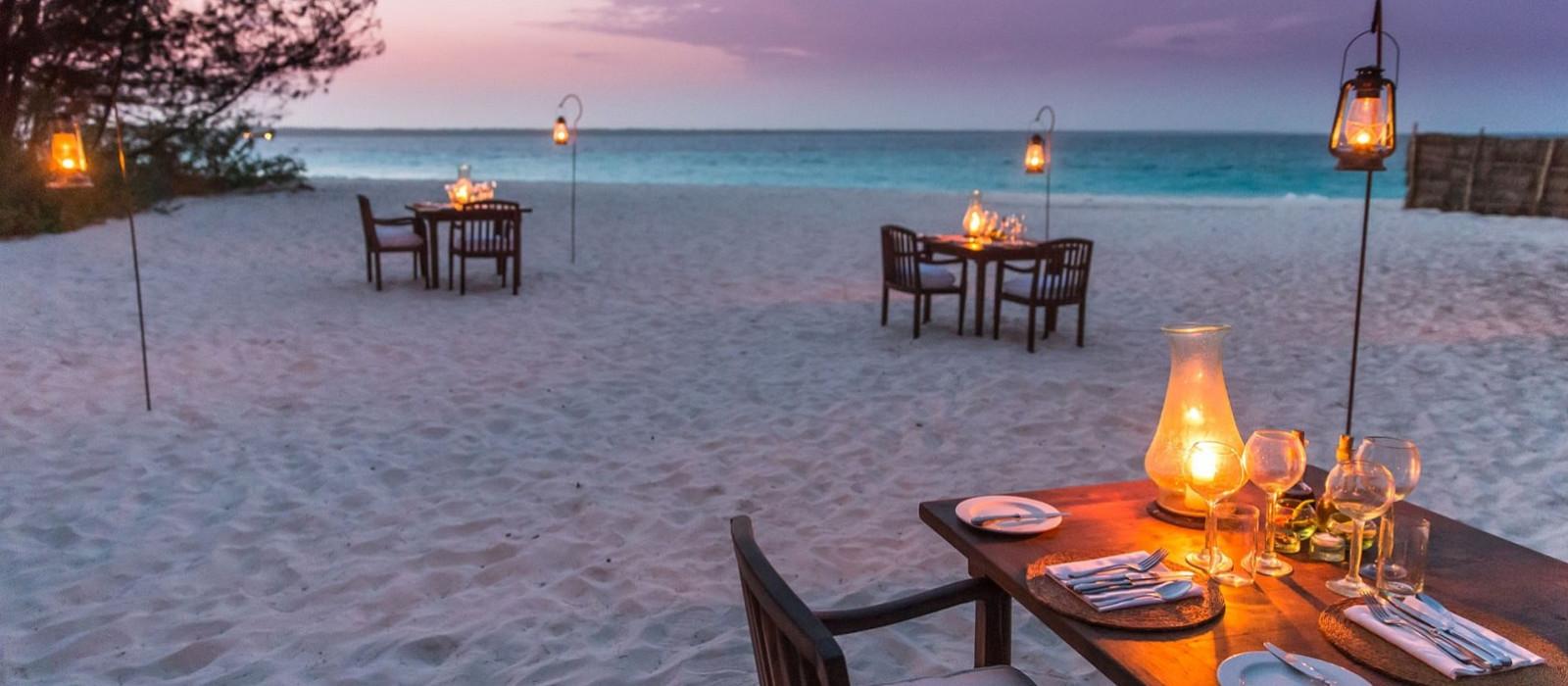 Hotel Mnemba Island Lodge Tansania