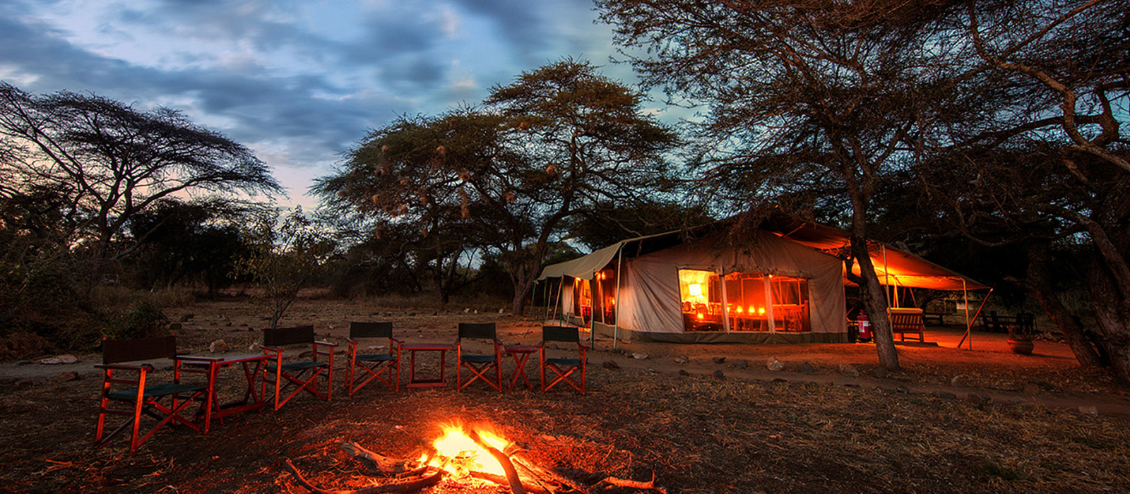 Hotel Adventure Camp Kenia
