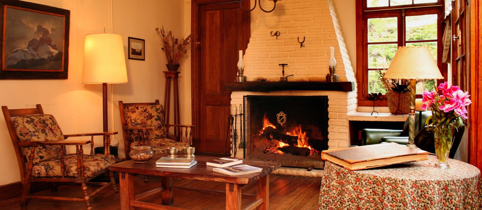 Hotel Estancia Nibepo Aike Argentinien