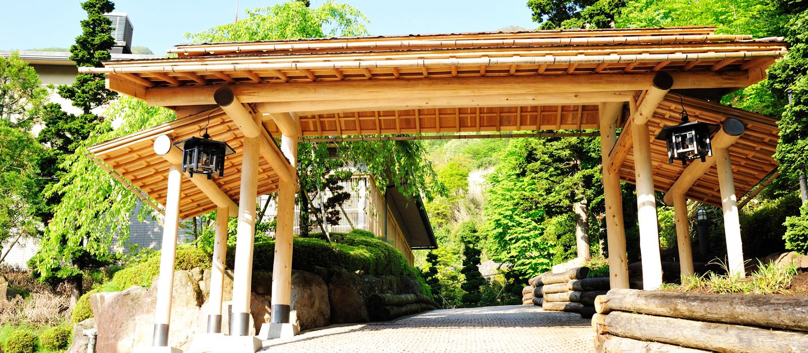 Hotel Gora Hanaougi Ryokan Japan