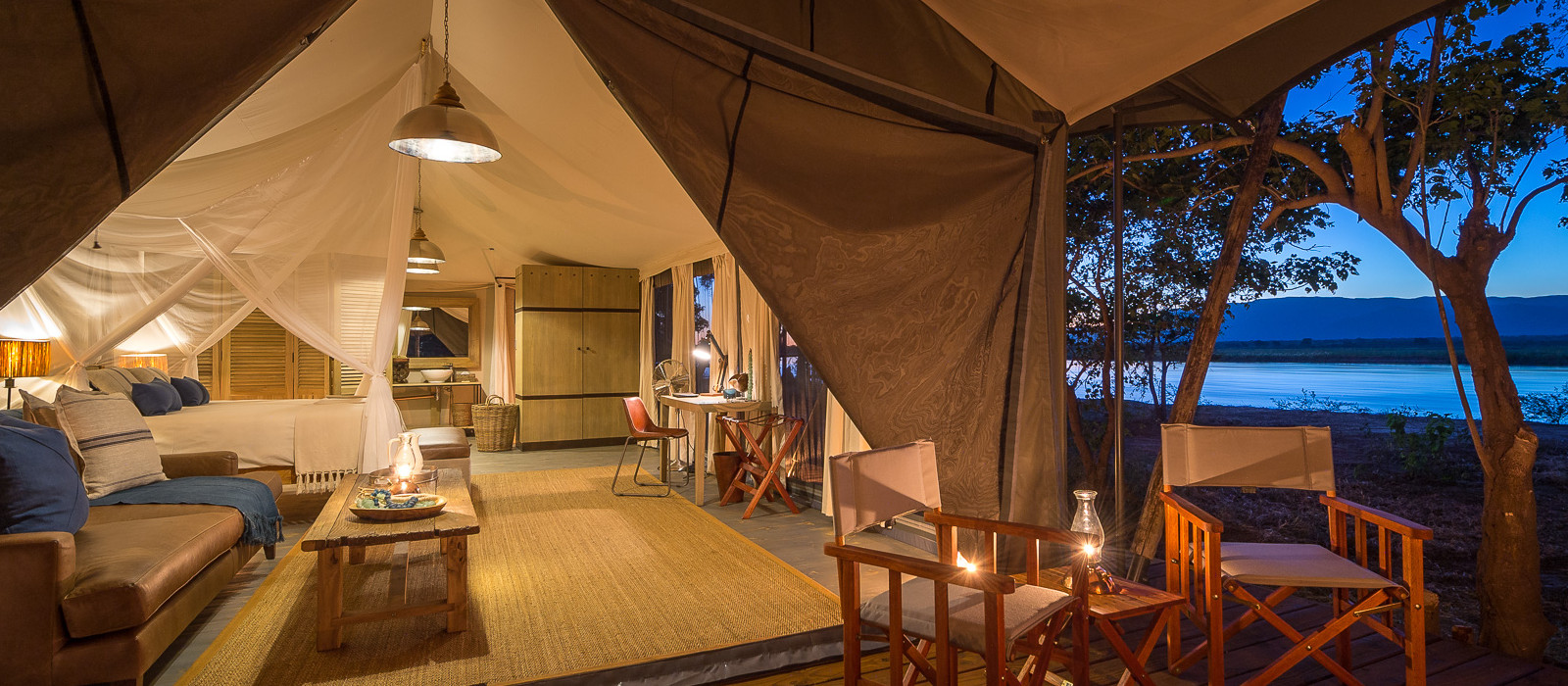 Hotel Ruckomechi Simbabwe