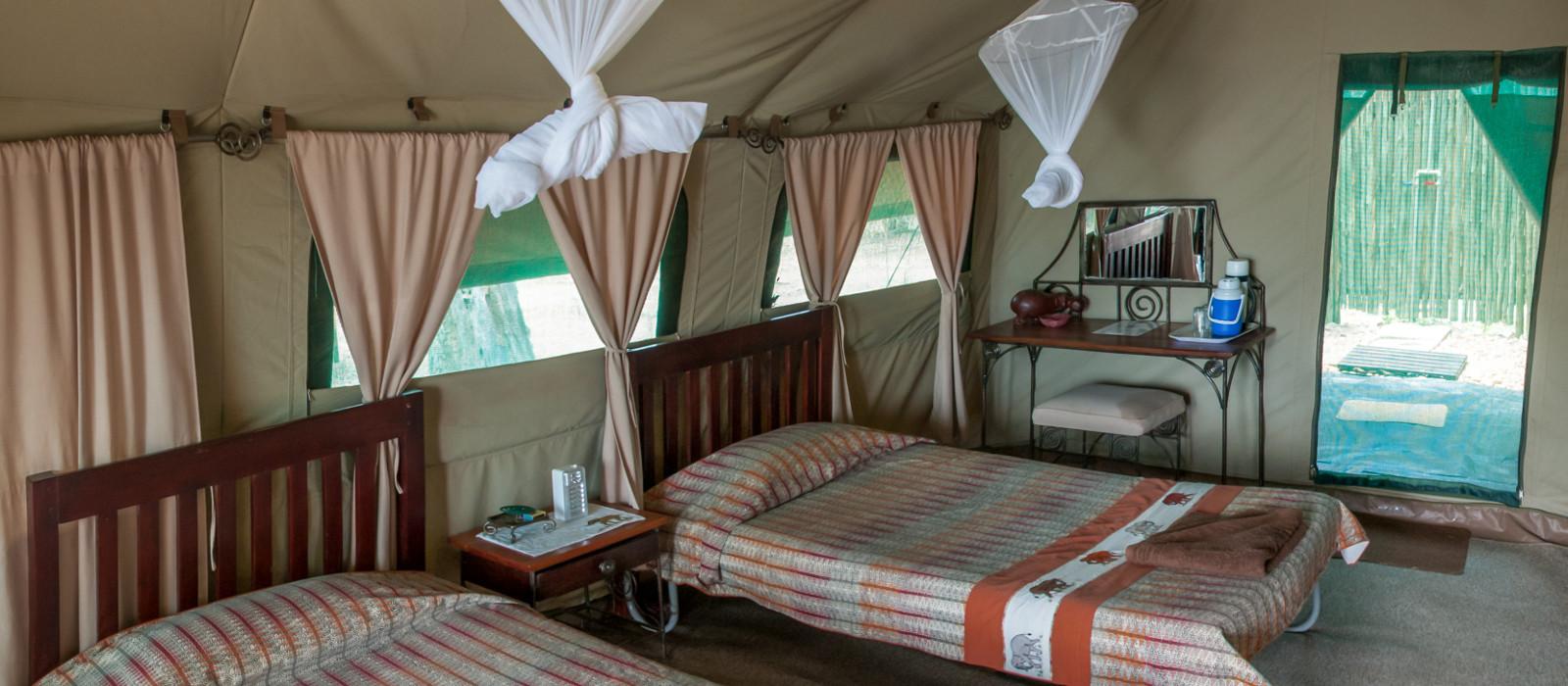 Hotel Goliath Safaris Tented Camp Simbabwe