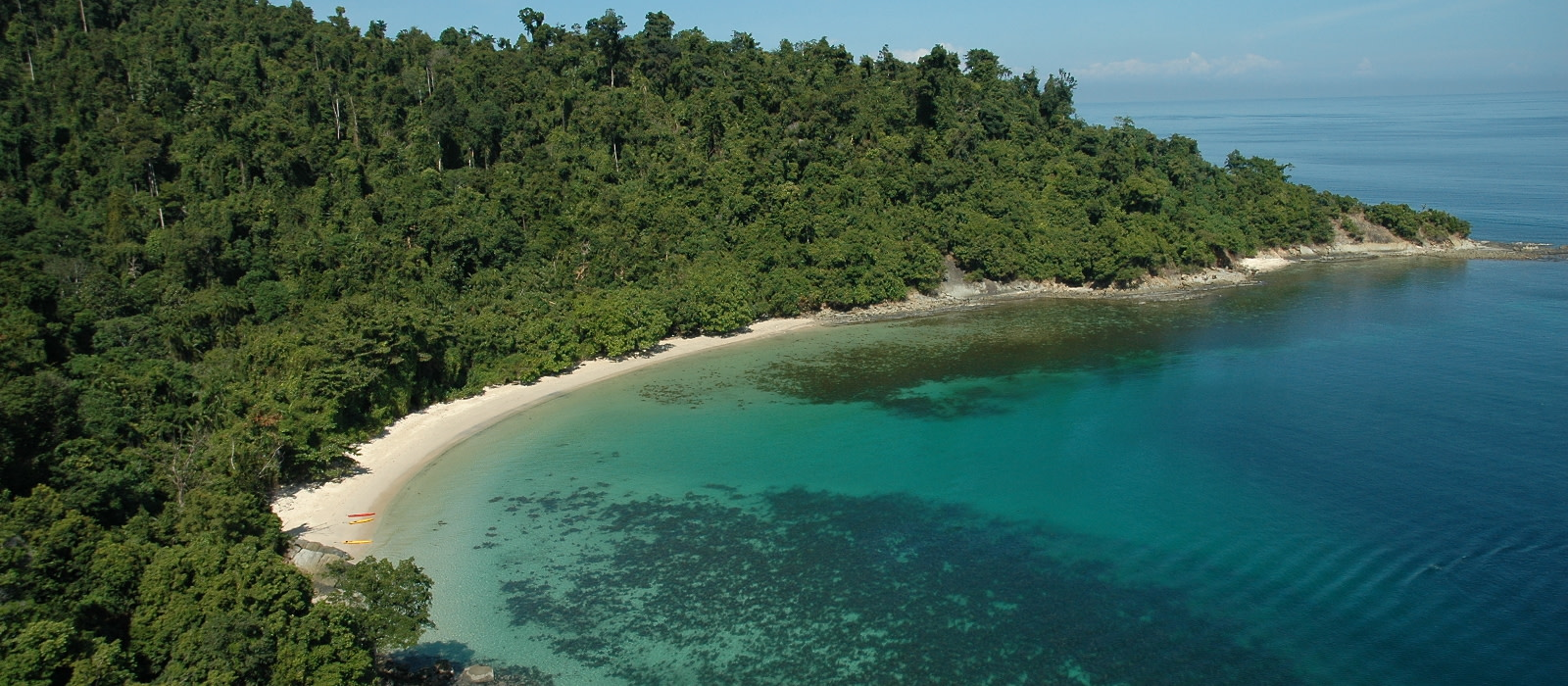 Reiseziel Kota Kinabalu Beach Malaysia