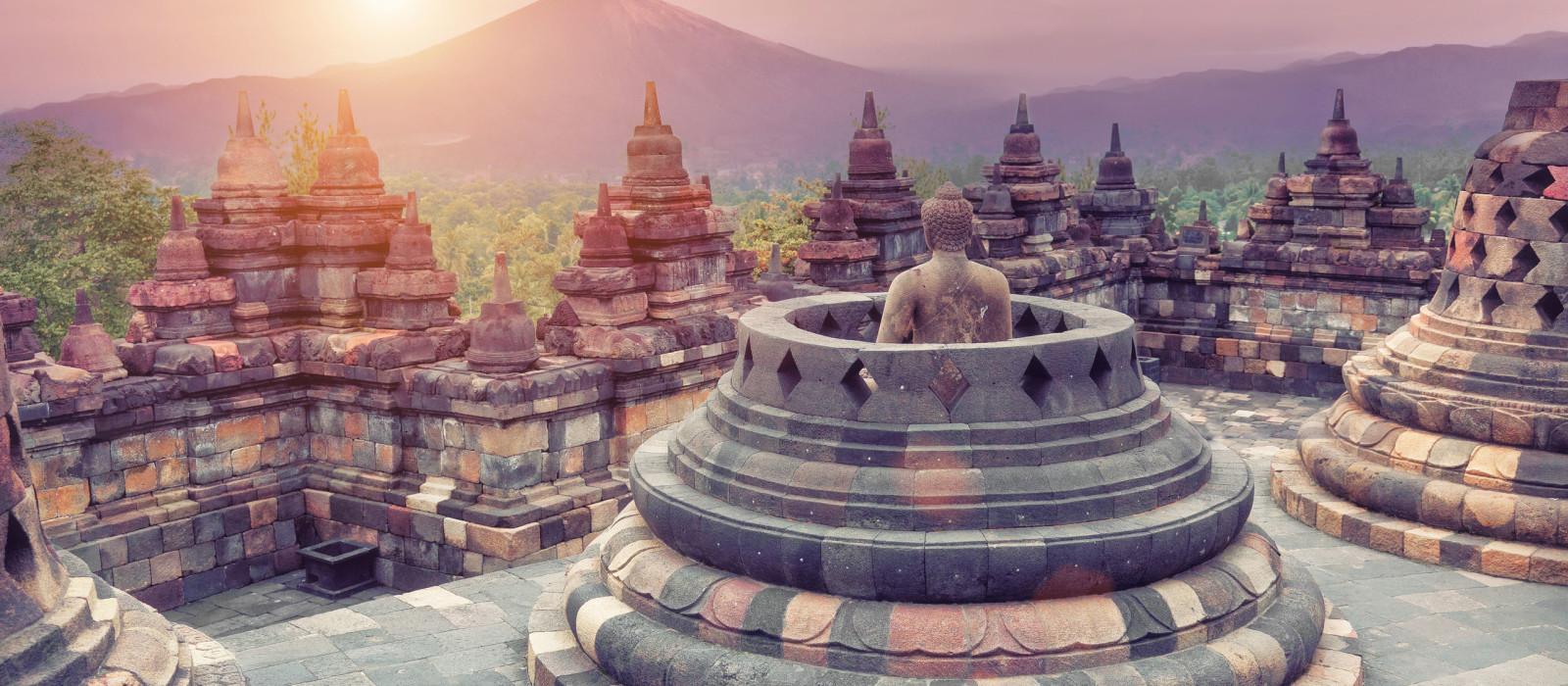 Reiseziel Java, Borobudur Indonesien