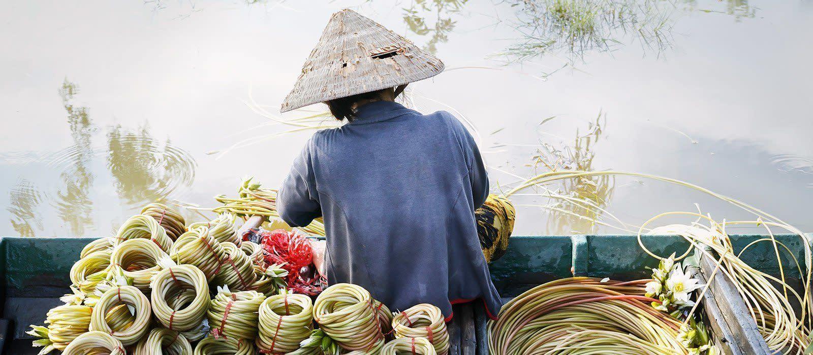 Reiseziel Chau Doc Vietnam