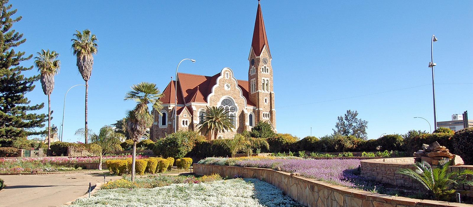 Reiseziel Windhoek Namibia