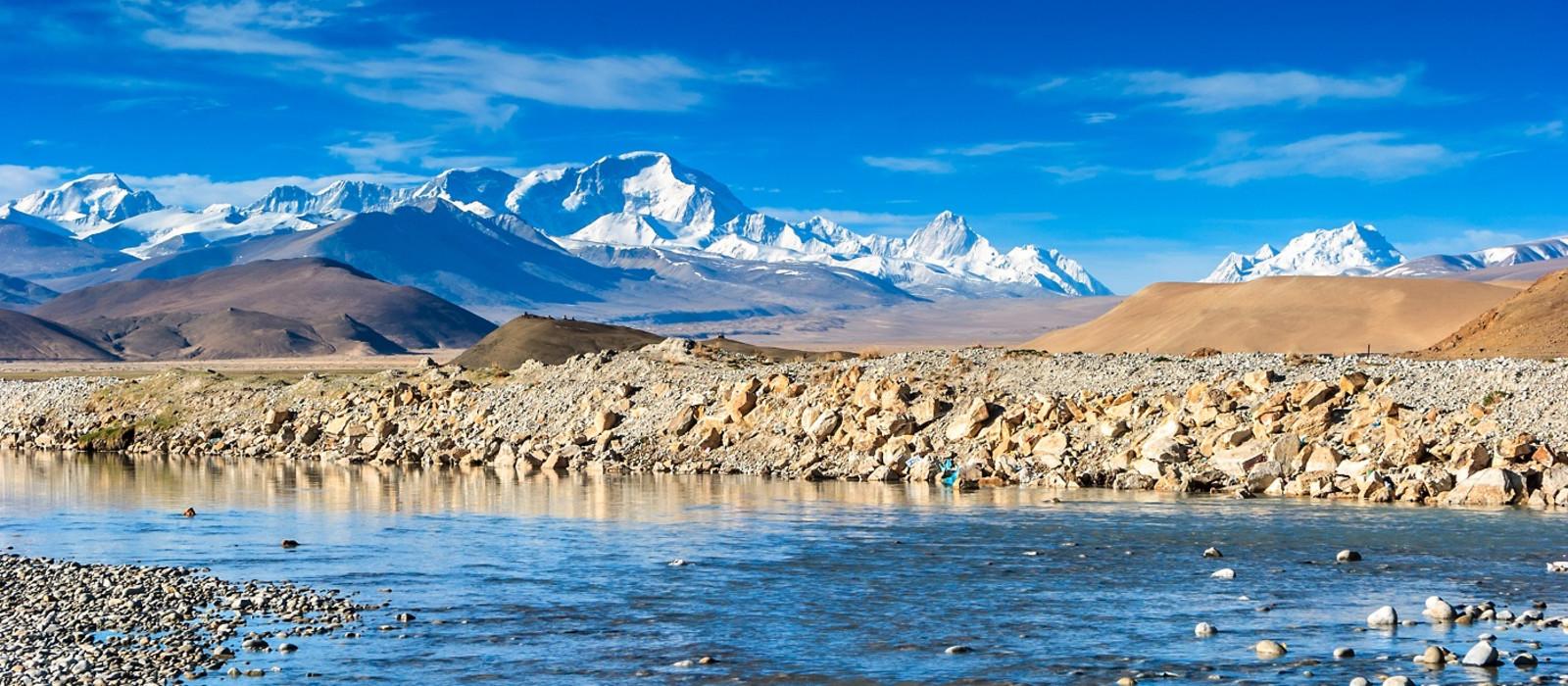 Reiseziel Mount Everest Tibet