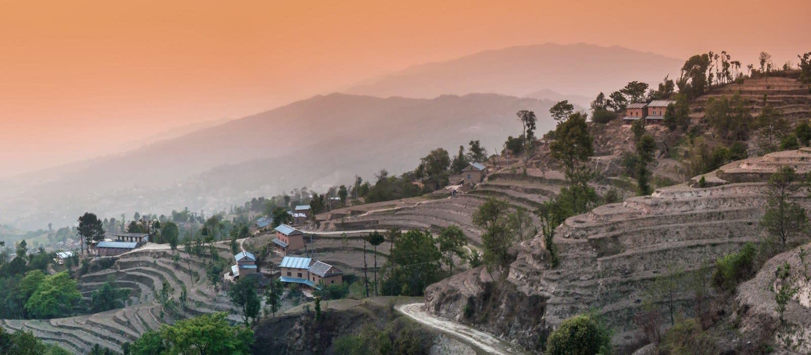 Reiseziel Nagarkot Nepal