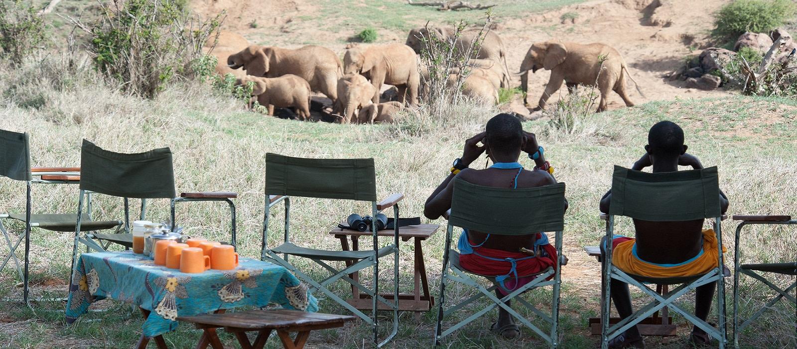 Reiseziel Laikipia Wandersafari Kenia