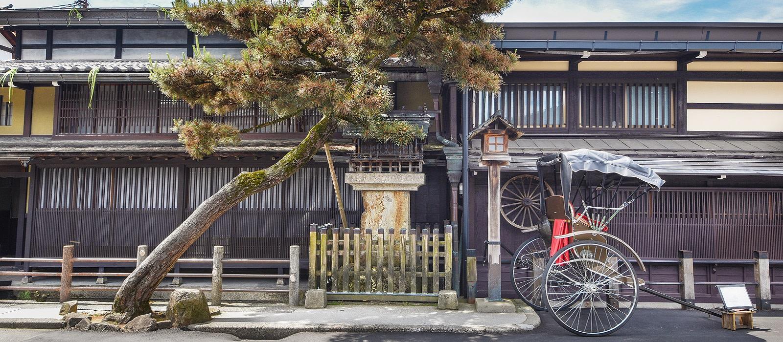 Reiseziel Takayama Japan