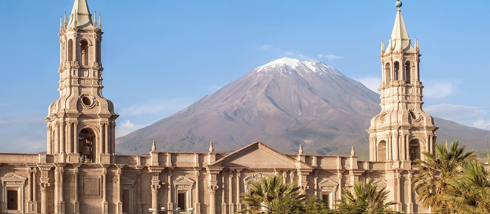 Reiseziel Arequipa Peru