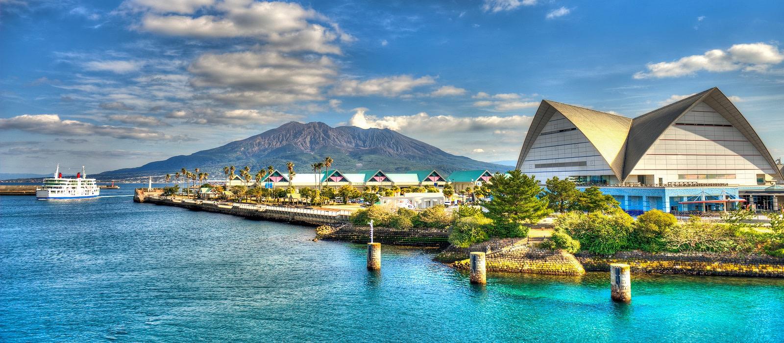 Reiseziel Kagoshima Japan