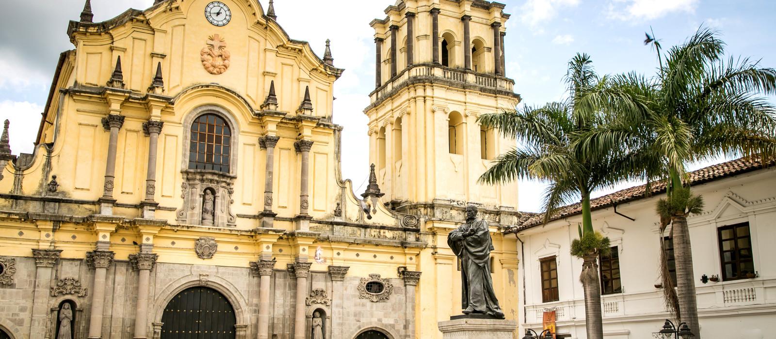 Reiseziel Popayan Kolumbien