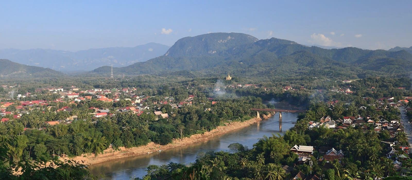 Reiseziel Luang Prabang / Mekong Laos