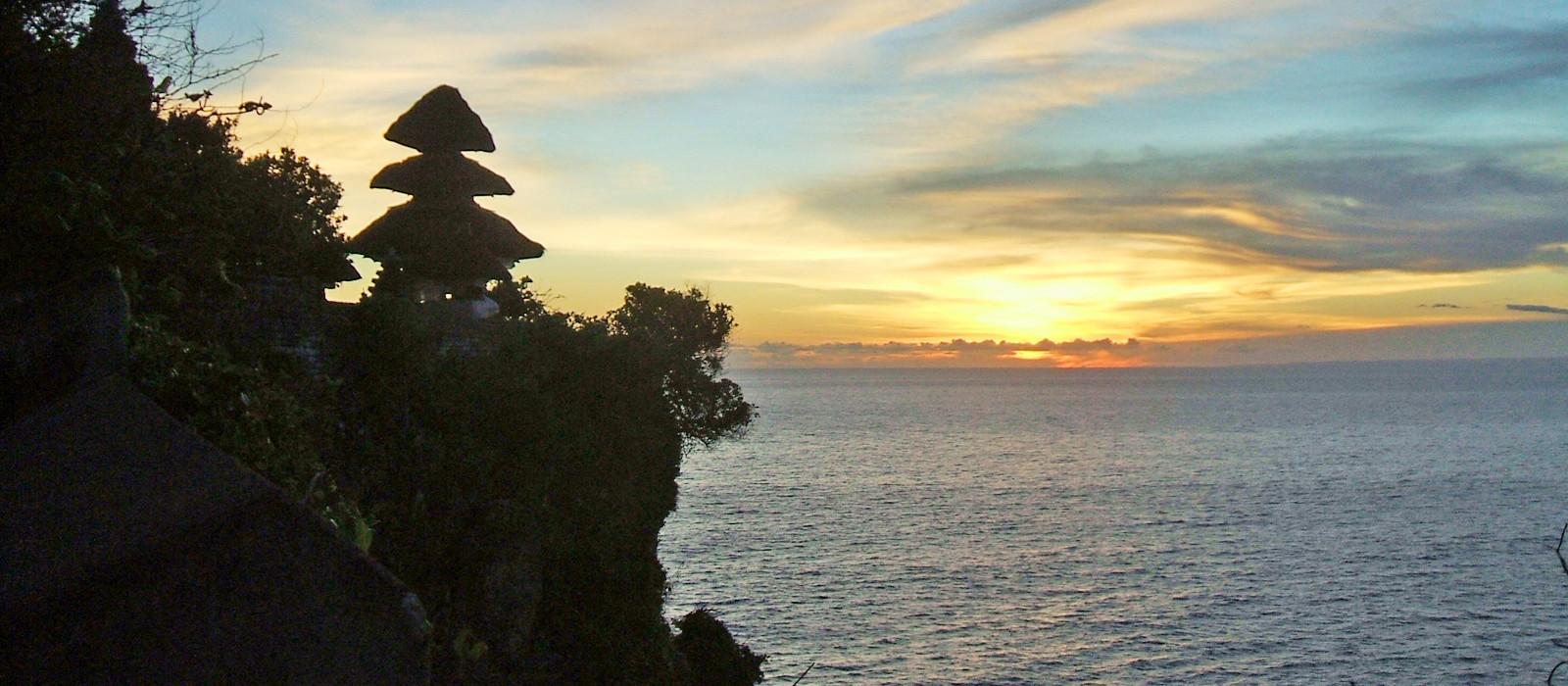 Reiseziel Bali,Uluwatu Indonesien