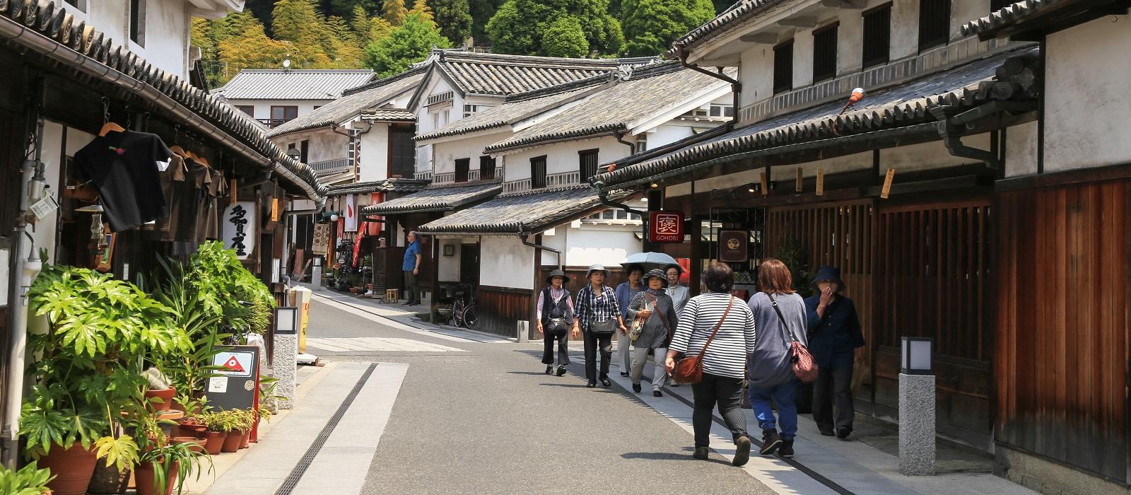 Reiseziel Kurashiki Japan