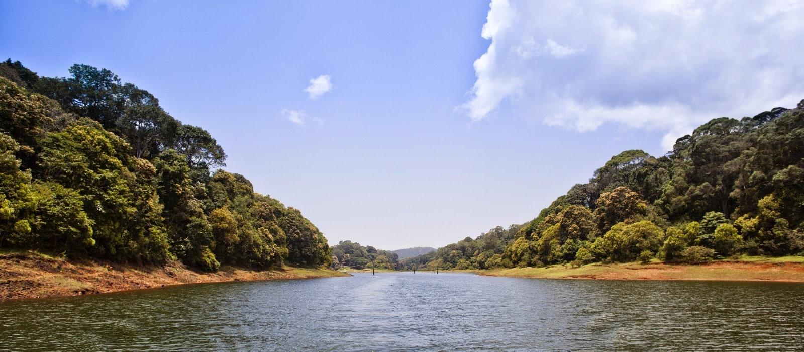Reiseziel Thekkady Südindien