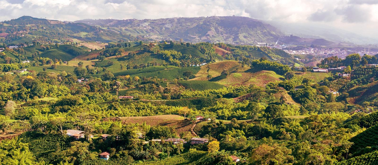 Reiseziel Coffee Region Kolumbien