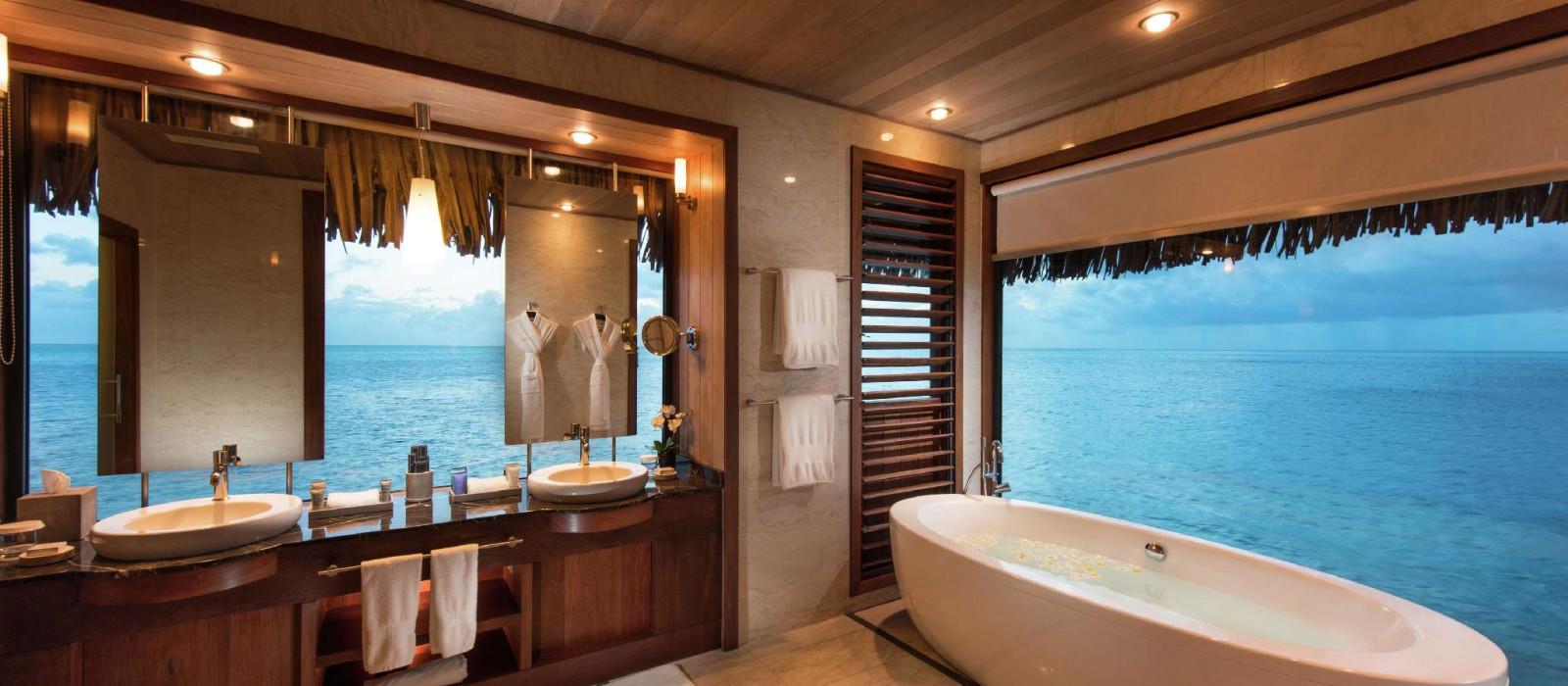 Hotel Conrad Bora Bora Nui Französisch Polynesien
