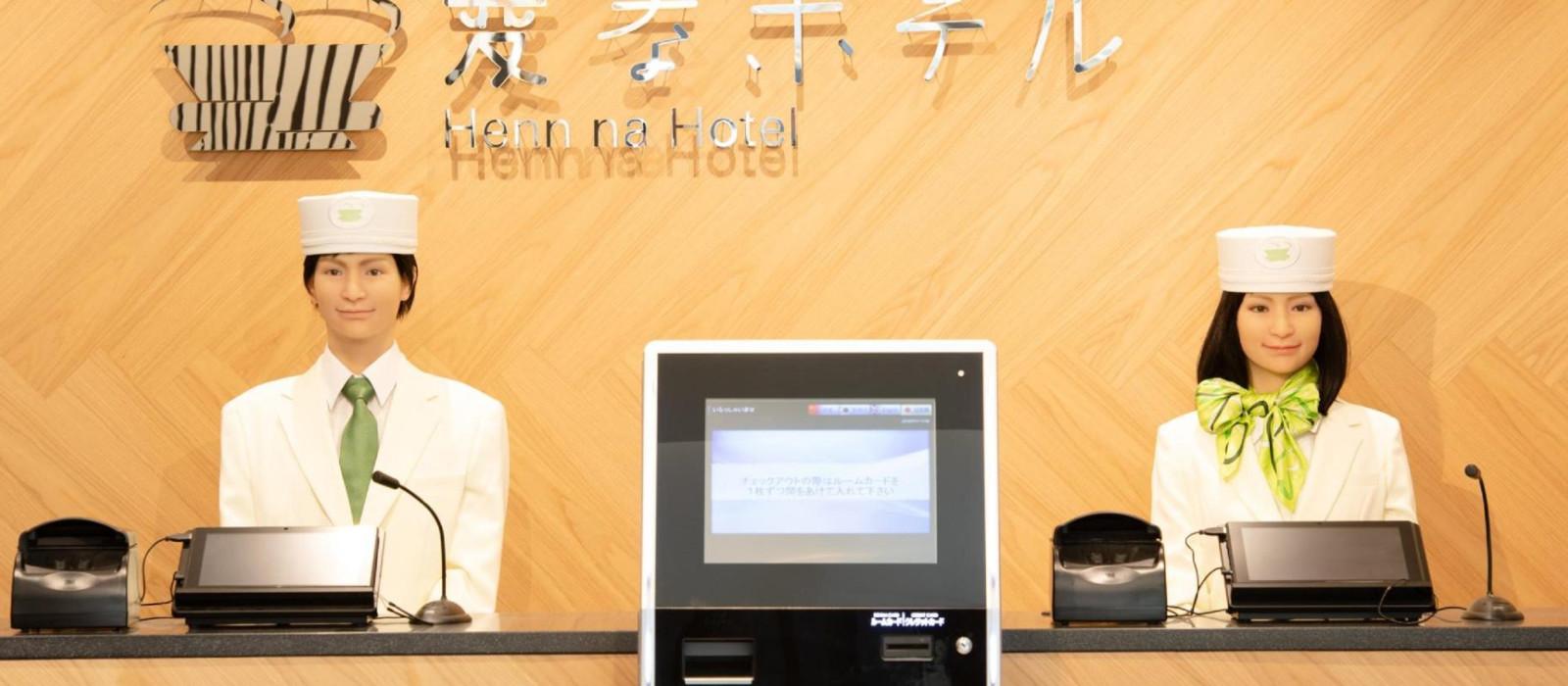 Hotel Henn na  Tokyo Akasaka Japan