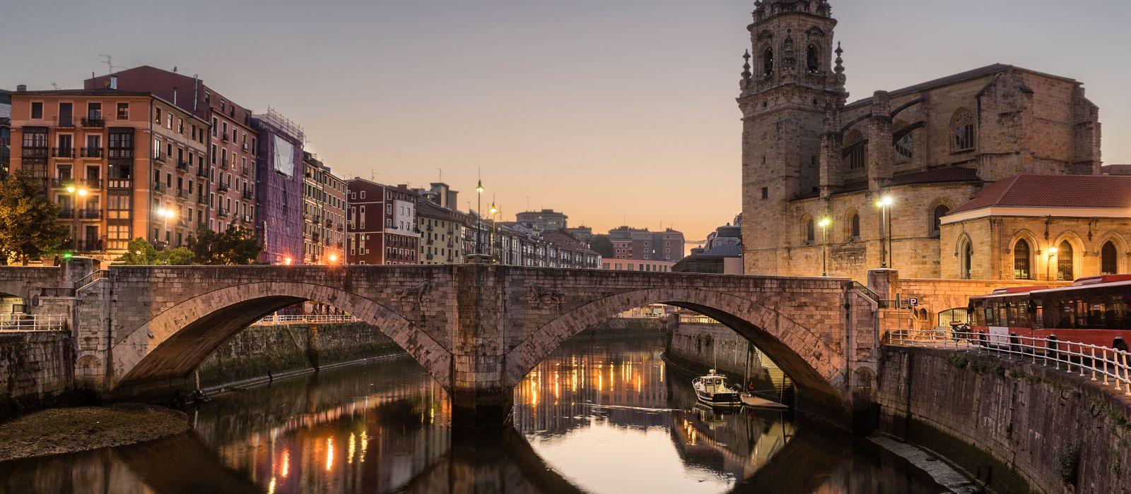 Destination Bilbao Spain