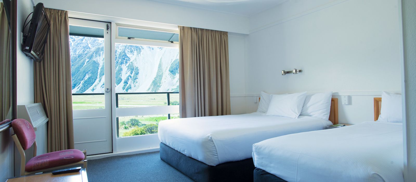 Hotel Mt Cook Lodge and Motels New Zealand