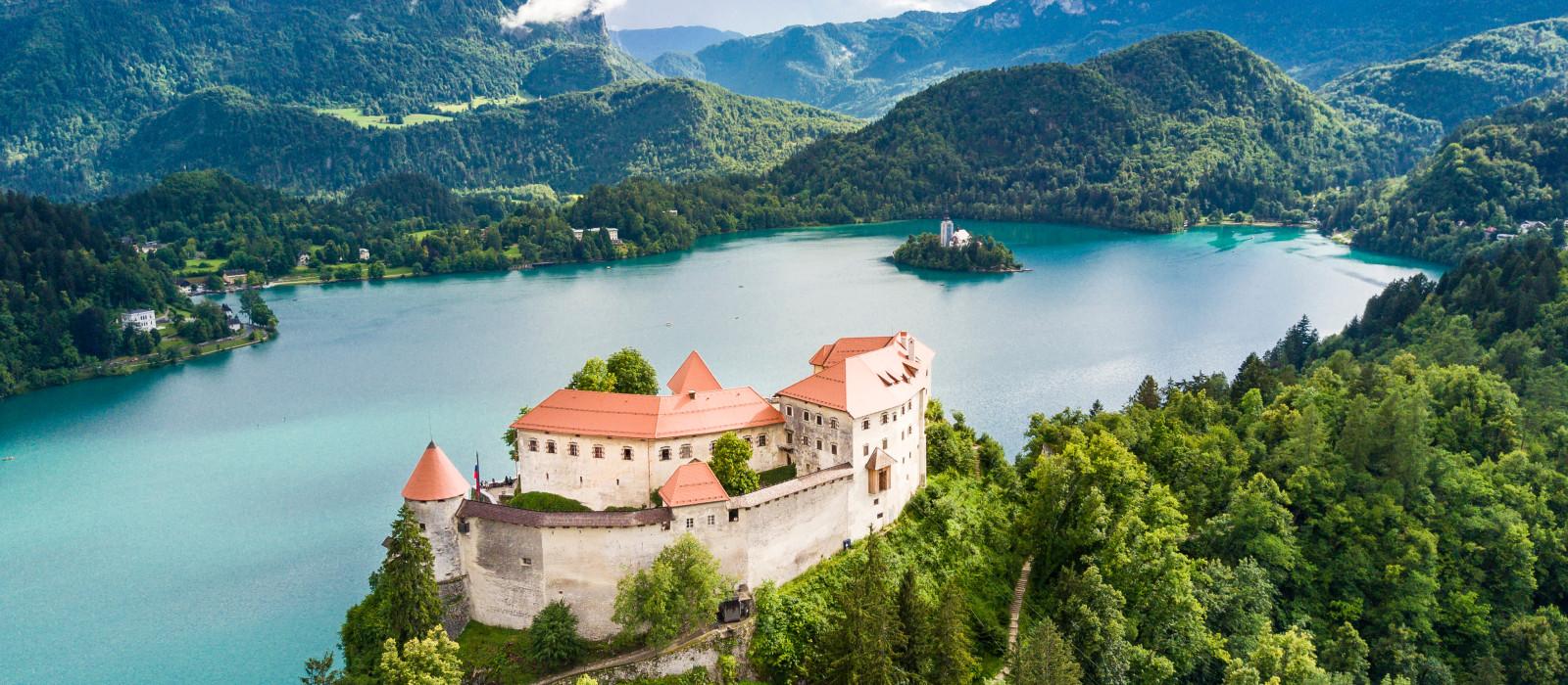 Reiseziel Bleder See Kroatien & Slowenien