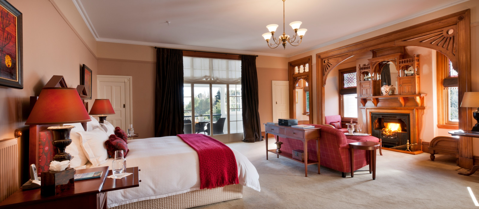 Hotel Otahuna Lodge New Zealand