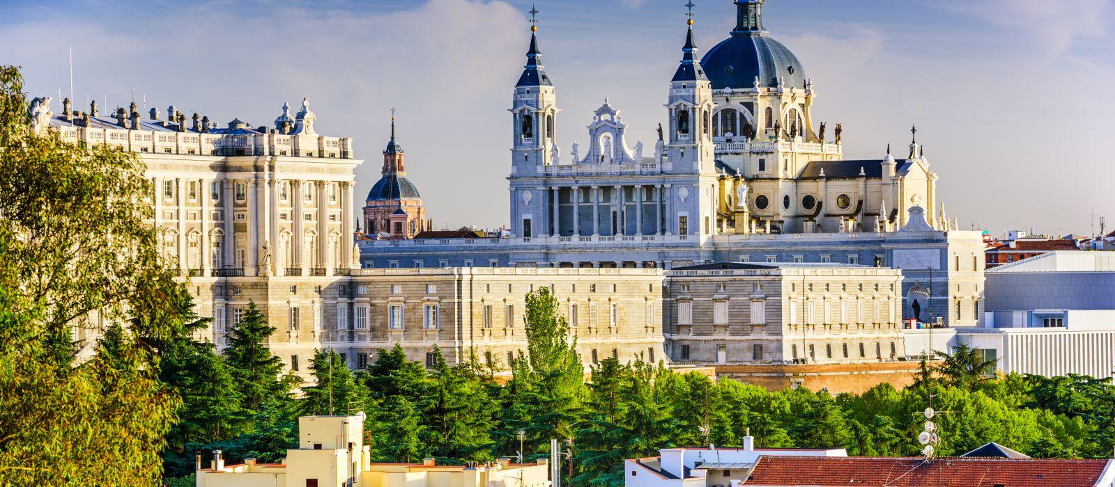 Destination Madrid Spain