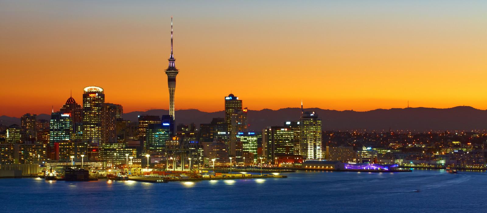 Reiseziel Auckland Neuseeland