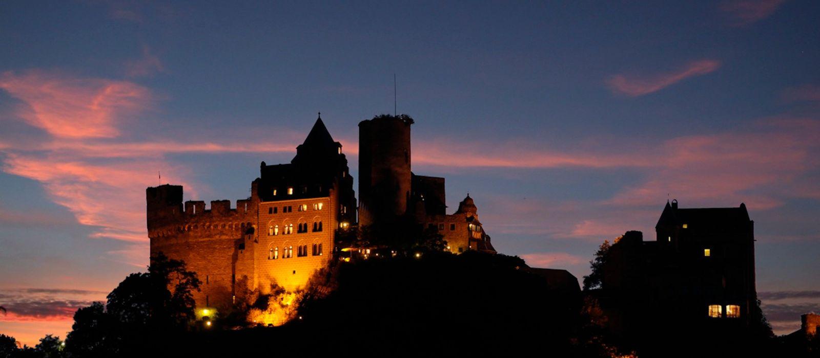 Hotel Burg Auf Schönburg Oberwesel Germany