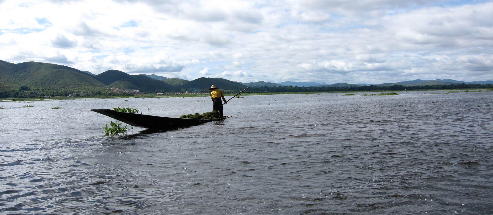 Destination Samkar Lake Myanmar