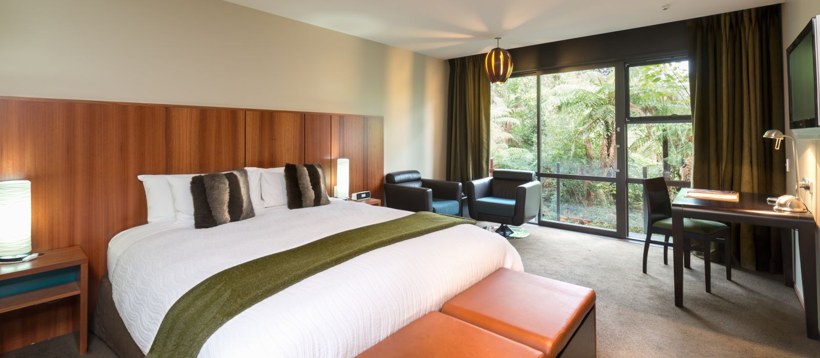 Hotel Te Waonui Forest Retreat Neuseeland