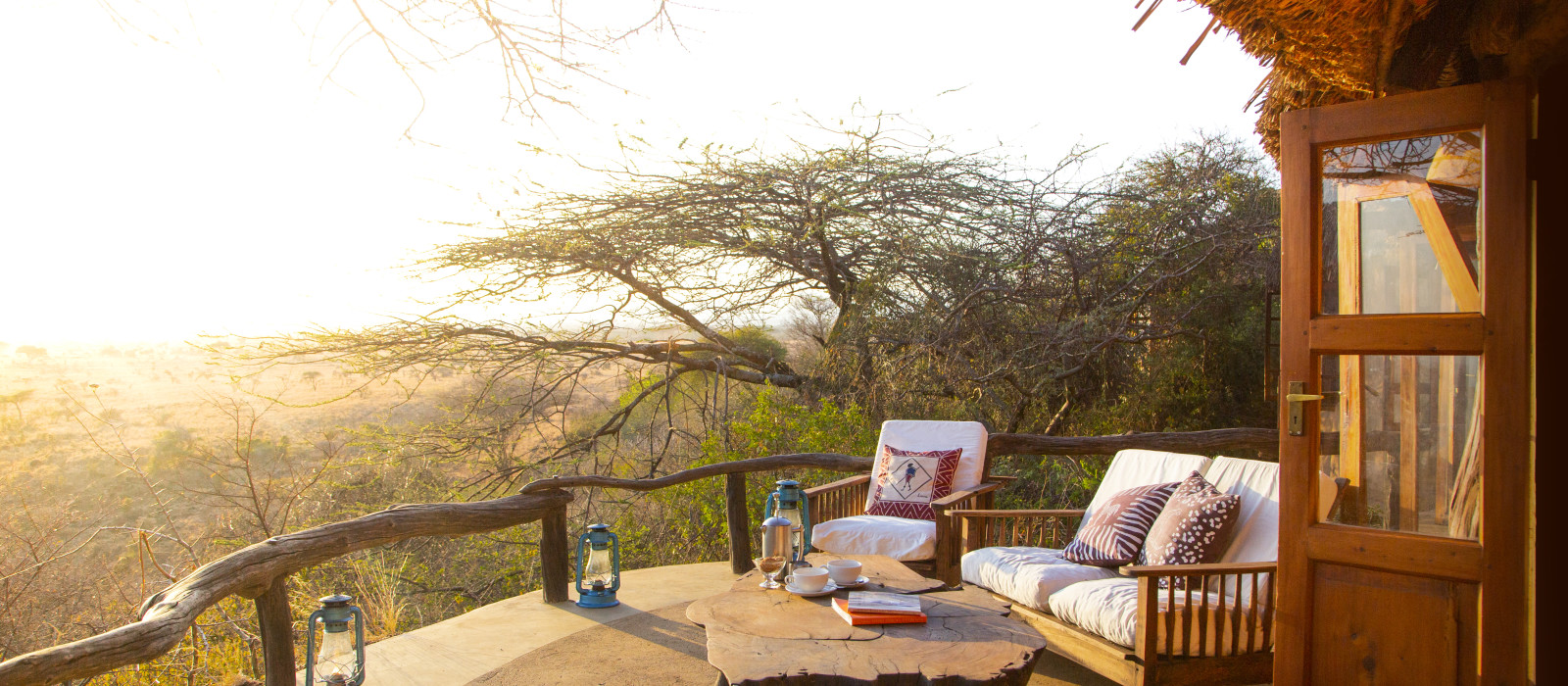 Hotel Lewa Wilderness Kenia